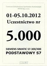 5.000 uczestnik szkolenia PODSTAWOWY S7