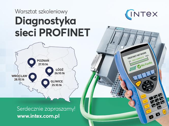 """""""Diagnostyka sieci PROFINET"""" – Gliwice – Łódź – Poznań – Wrocław"""