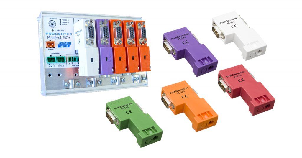 Innowacyjne konektory dla sieci PROFIBUS DP