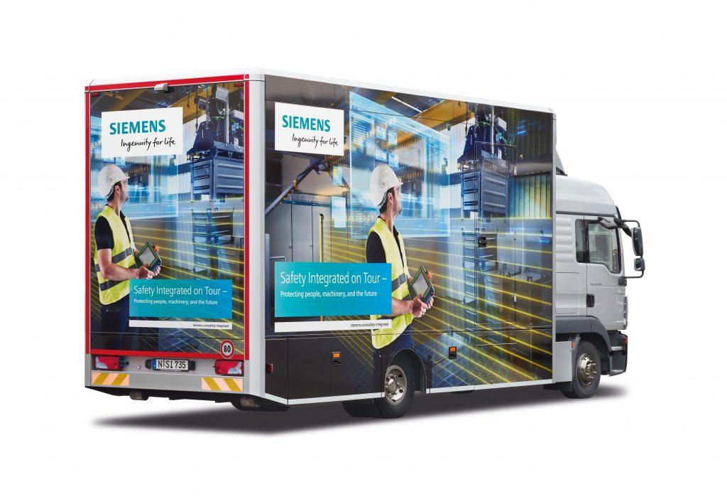 """""""Bezpieczeństwo maszyn w praktyce"""" – Safety Truck on Tour"""