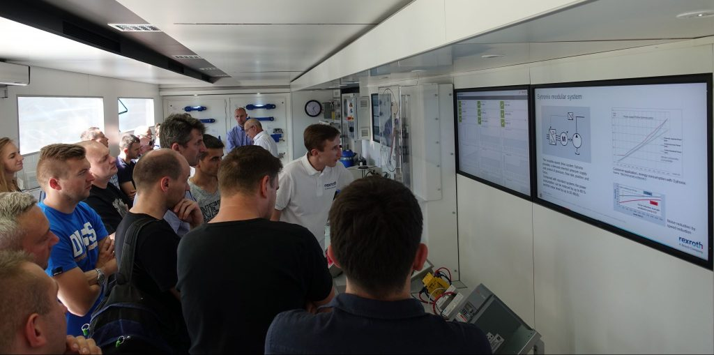 Connected Hydraulics – Truck Roadshow – przystanek Gliwice
